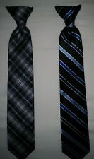 Chaps Lot of 2 Clip On Ties