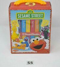 Sesame Street 12 Board Books for Preschool Children Skills