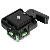 Release Plate Platform Mount Base Camcorder Tripod Monopod Ball Head for DS P7W2