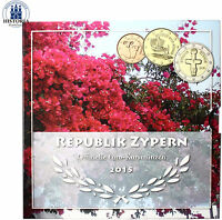 Zypern 3,88 Euro 2015 bfr. KMS 1 Cent bis 2 Euro Idol von Pomos Sondersatz