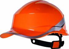 Delta Plus Safety Hard Hat Helmet Bump Baseball Cap Hi Vis Reversiblediamond V