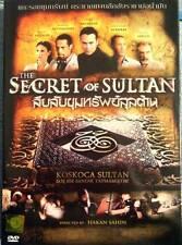 THE SECRET OF SULTAN [Sultanin Sirri] DVD PAL COLOR - Mark Dacascos, Turkish