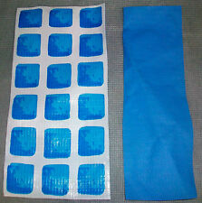 """INTEX POOL PATCH MATERIAL ( 1 ) PIECE ONLY  MATERIAL SIZE IS  7.75"""" X  3.75"""""""