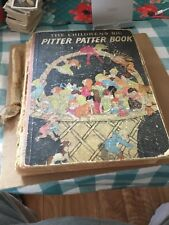 Rare Find- The Children's Big Pitter Patter Book 1926-27 Poor Condition