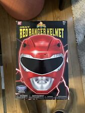 Mighty Morphin Power Rangers Legacy Red Ranger Helmet Full Scale Cosplay 1:1 New
