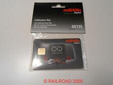 Märklin  60135 Lokkarten-Set, 5 Stück, NEU + OVP