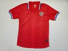 Federacion Costarricense De Futbol Coasta Rica Football Soccer Jersey Mens Large