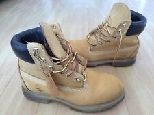 Ladies Tan Nubuck Leather Timberland Boots UK 3.5