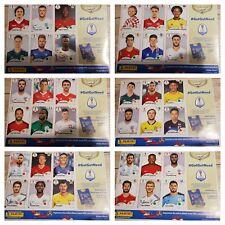 PANINI WORLD CUP 2018 Sticker 6 sheets of 6 Stickers MESSI WALKER LEWANDOWSKI