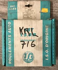KIT ROULEMENT DE ROUE ARRIERE ISO'R RW60 @ RENAULT R18, R20, FUEGO, R21, @ N8467