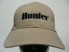 HUNTER - LIGHT BROWN - EMBROIDERED - ADJUSTABLE BALL CAP HAT!