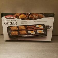 Presto Jumbo Cool Touch Electric Griddle - Premium Nonstick Finish - NIB   07037