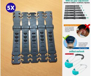 5 Pcs Face Mask Adjustable Ear Hook Strap Extension Fixing Ear Saver Buckle AU