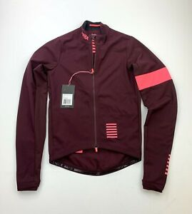 RAPHA Pro Team Training Jacket Burgundy Pink Size Small New