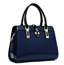 H9 women designer handbag patent leather handbag shoulder messenger LADIES bags