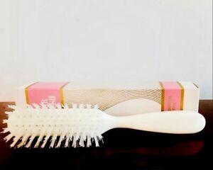 NEW Vintage  Avon Professional Style  White Hairbrush Nylon Bristle  NOS