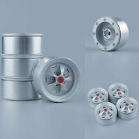 4pcs Beadlock Wheel Rim Felgen für 1/10 Axial SCX10 II 90046 Traxxas TRX4 D90 RC