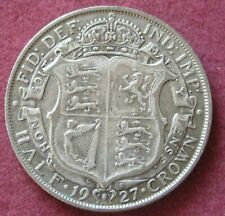 1927 George V Half Crown Silver.   (2) ref.