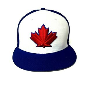 Toronto Blue Jays New Era Red Maple Leaf 59FIFTY Fitted Hat Size 8 MLB