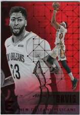 2017-18 Panini Essentials Basketball Red Parallel #124 Anthony Davis