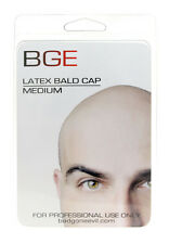 BGE Medium Latex Bald Cap Beige Adult Handmade Made in USA