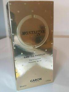 CARON MONTAIGNE 50ML EAU DE PARFUM SPRAY - NEW & SEALED