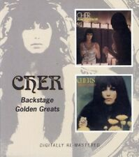 Cher Backstage/Golden Greats 2on1 CD NEW SEALED Remastered Bang Bang/Sunny/Alfie