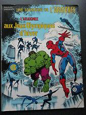 L' ARAIGNEE AUX JEUX OLYMPIQUES  LUG EDITIONS  SPIDER MAN  ( STRANGE MARVEL )