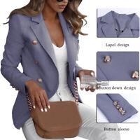 Fashion Women Casual Slim Business Blazer Suit Coat Jacket Outwear Size S-5XL