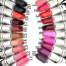 20 Colors Matte Lipstick Makeup Waterproof Long-lasting Moisturizing Lipstick