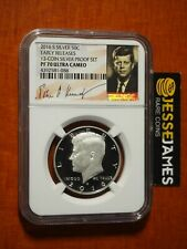 2016 S PROOF SILVER KENNEDY NGC PF70 EARLY RELEASE FROM 13 COIN SILVER PROOF SET