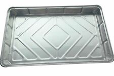 "75 xLarge Rectangular12 x 8""Foil Baking tray container aluminium recyclable dish"