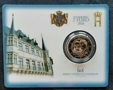 2 euro Luxemburg 2020 Prince Henri coincard BU #V25