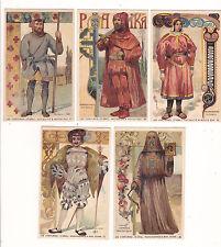 5 CHROMO CACAO PAYRAUD Les Costumes