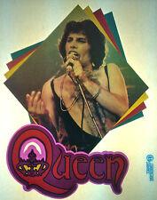 Queen, Freddy mercury 80s, vintage retro tshirt transfer print new, NOS
