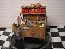 1/25 Resin Grandpas Wooden Workbench For Garage Diorama Model Car PSF HOBBIES