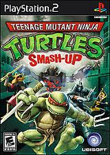 Teenage Mutant Ninja Turtles: Smash-Up (Sony PlayStation 2, 2009) COMPLETE