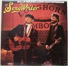 NELSON + KRISTOFFERSON - MUSIC FROM SONGWRITER  cbs LP