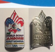 24th World Scout Jamboree 2019 Hiking Medallion USA Contingent Ist MINT
