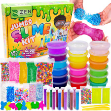 DIY Slime Kit for Girls Boys - Ultimate Glow in the Dark Glitter Making Arts Cra