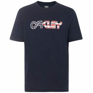 Oakley Flag Tee Fathom 457821-6AC XXL