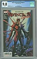 Ruins of Ravencroft Carnage #1 CGC 9.8 Sandoval Cover Edition 1st First Print