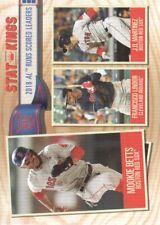 2019 Topps Big League Baseball #347 J.D. Martinez Francisco Lindor Mookie Betts