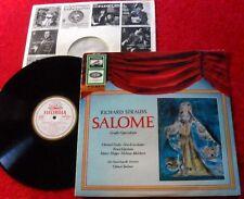 LP Richard Strauss - SALOME Großer Querschnitt (Electrola SME 80857)