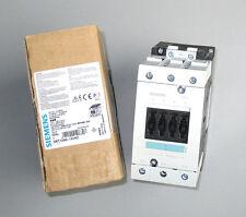 Siemens Sirius Contactor 480V Coil 100A AC-1 65A AC-3 50 HP 30 kW, 3RT1044-1AV60