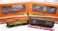 Lionel ~ 6-21757 Union Pacific 4-pack Freight cars