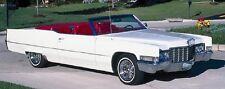 1965-70 Cadillac Eldorado/Coupe Deville Convertible Top - MADE IN CALIFORNIA