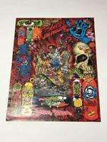 Jim Phillips Skateboard Art Poster Rare Good condition From JAPAN