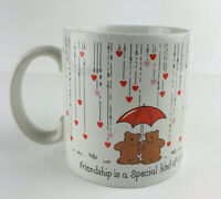 Friendship Is A Special Kind Of Love Coffee Cup Mug Russ Berrie Valentine Gift