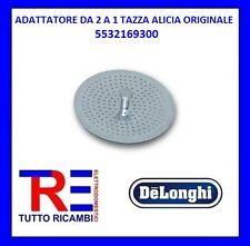ADATTATORE DA 2 A 1 + ORZO TAZZA ALICIA DE LONGHI ORIGINALE 5532169300